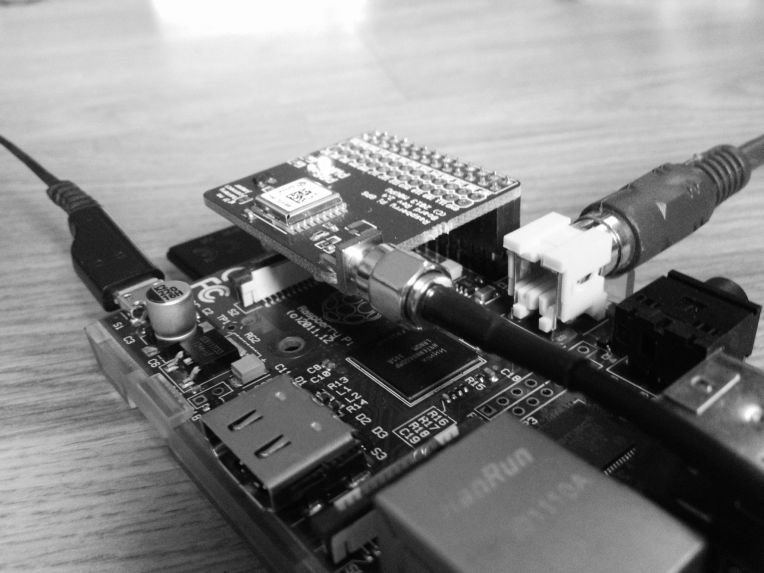 RaspberryPi with GPS module