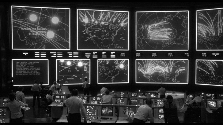 The NORAD as see in War Games film